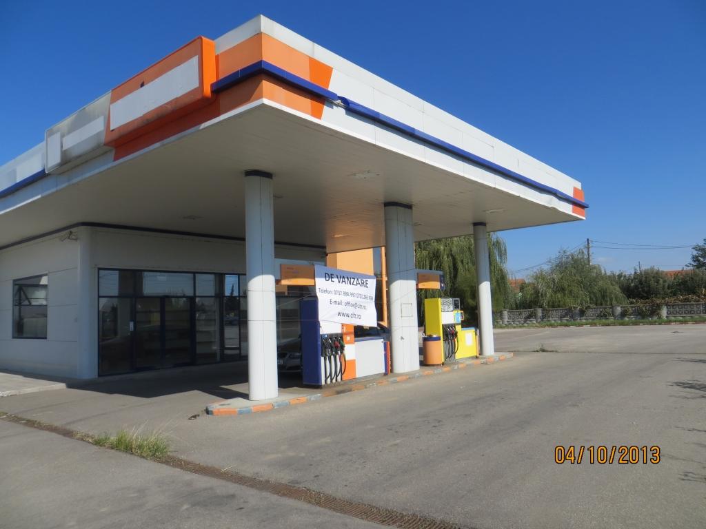 Cladire Statie de carburanti Motel